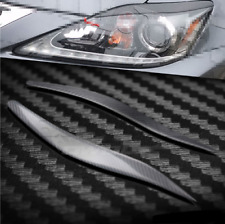For Lexus IS250 IS300 2006-2012 Sport Real Carbon Fiber Headlight Eye Lid Cover