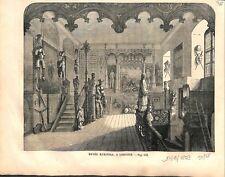 Musée Munitoli à Liegnitz Legnica en Basse-Silésie Pologne GRAVURE PRINT 1859