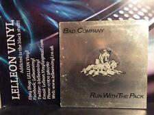Bad Company Run With The Pack Gatefold LP Album Vinyl Record ILPSP9346 Rock 70's