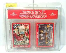 "1992 ""Legends of Indy II"" - Complete Racing Collector (100) Card Set - NIB"