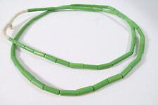 alte kleine böhmische Glasperlen grün 4mm AF54 Green Old Bohemian Trade beads