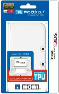 Hori TPU SOFT Protect Case Cover Clear for ''NEW Nintendo 3DS ''(NOT 3DS LL)