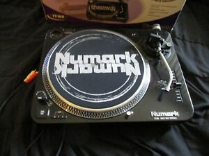 Numark TT-100 Direct Drive DJ Mixing Turntable with box- Tested All Working!