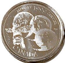 1 x 1999 Canada Millenium 25 cent UNC Quarter - JANUARY