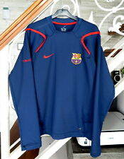 Nike Barcelona Long Sleeve Men's Football Top Size : S