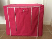 MADE TO MEASURE DOG CRATE / CAGE COVER / DIAMANTE / VARIOUS DESIGNS & COLOURS