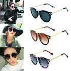 Fashion lady Sunglasses Arrow Glasses Eyewear Round Glass Retro Plastic Frame