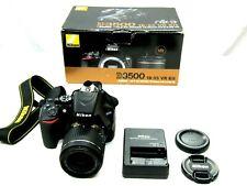 Nikon D3500 24.2MP with 18-55mm VR Lens Kit DSLR Camera - Black