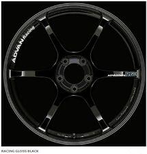 YOKOHAMA ADVAN RACING RGIII wheels rims 8.0J-18 +42 from JAPAN