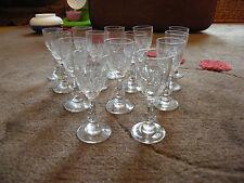 -gläser likör aus Kristall St Louis Modell Massenet