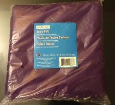 Basic Felt By Creatology 36 In X 36 In. Plum Purple Color