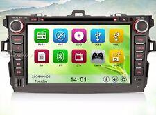 "AUTORADIO Touch Navigatore Gps 7"" Toyota Corolla 2007-2010 Dvd Mp3 DVD Comandi"