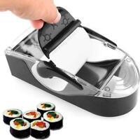 DIY Sushi Roller Machine Kitchen Gadgets Tool Roll B6J9
