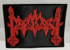 MOONBLOOD   ( red logo )  EMBROIDERED  PATCH