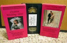 CREATIVE WEDDING IDEAS bridal DIY planning advice inexpensive VHS consultants