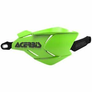 Acerbis X-Factory Handguards Green/Black Honda Kawasaki KTM Yamaha Suzuki