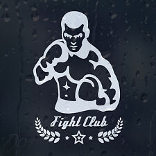 Boxing Master Fight Club Car Decal Vinyl Sticker For Bumper Or Window