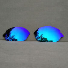 Ice Blue Mirrored Replacement Lenses for-Oakley Romeo 2 Sunglasses Polarized