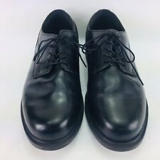 Dunham Burlington Men's Sz 11 4E Black Leather Waterproof Oxford Shoes MCT410BK