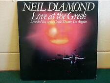 70's vinyl LP Neil Diamond – Love At The Greek CK pics for condition FASTPOST