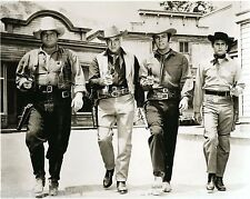 The TV Show Cast of Bonanza Little Joe Hoss Pa Adam Bonanza Guns Drawn MUST SEE