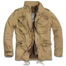 Brandit Giacca Giubbotto giaccone Parka Uomo Vintage M 65 Giant Jacket XL Camel