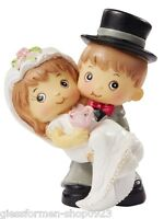 Dekofigur  Tortendeko *Hochzeitspaar - 5,5 cm* 3870270 NEU