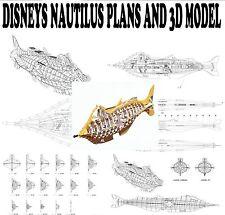 DISNEYS NAUTILUS sous-marin en 3D