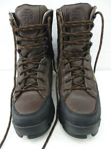 """LACROSSE BIG COUNTRY 8"""" 400G WOMEN'S LEATHER SCENT WATER PROOF HUNTING BOOTS 6.5"""
