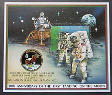 Cook Islands 1989 20th Anniv of 1st Moon Landing Mini Sheet. MNH.