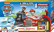 Carrera First 63033 Paw Patrol - On the Track 1:50 battery op slot car race set