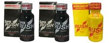 3 PACK of ORIGINAL LEATHER CLEANER - (1 x RUSH ORIGINAL + 2 x SUPER RUSH BLACK)