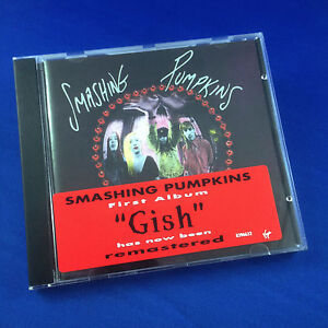 SMASHING PUMPKINS: Gish Remastered 1994 (ULTRA RARE NEW UK 1ST PRESS CDHUTX2 )