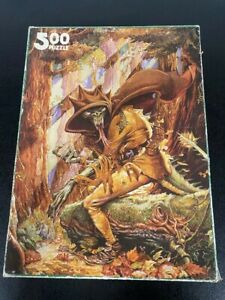 Games Workshop : The Forest of Doom - 500 Piece Puzzle - Fighting Fantasy Jigsaw