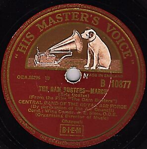 Die Damm Busters März 78 Die Zentral Band Of The Royal Air Force Hmv B 10877 E