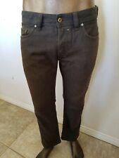 DIESEL SAFADO Regular Slim Straight green wash JEANS - Size 32