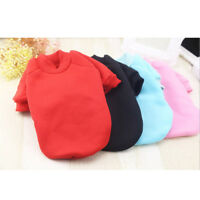 Puppy Pet Dog Cat Teddy Coat Clothes Hoodie Winter Warm Sweater Costume Clothes