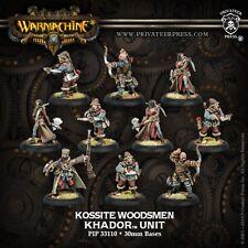 Warmachine Hordes BNIB Khador Kossite Woodsmen (10) 33110