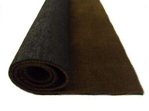 Brown car carpet - automotive carpet 1.5m wide (5ft) sold per running metre
