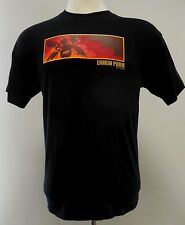 LINKIN Park TEE Shirt L Black MENS Large M&O Heavyweight COTTON 2001 Graphic MEN