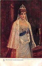 POSTCARD    ROYALTY   Queen  Alexandra      TUCK