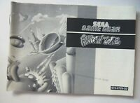 52163 Instruction Booklet - Fantasy Zone - Sega Game Gear () 672-0729-50