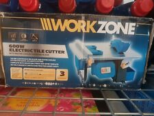 WorkZone 600w Electric Tile Cutter Used