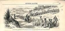 Fellah Arab Upper Egypt Dendera Dandarah ANTIQUE PRINT 1869