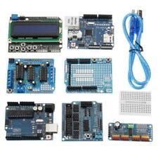 UNO R3 Protoshield LCD Keypad Shield Servo Motor Starter Kit For Arduino Beginne