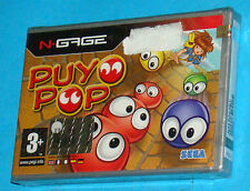 Puyo Pop - Nokia N-Gage NGage - PAL New Nuovo Sealed