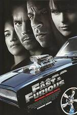 Fast & Furious New Model Ver B 2Sided Orig Movie Poster