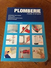 PLOMBERIE MODE D'EMPLOI  /MARBOUT / OCCASION