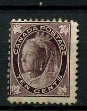 Canada 1897-8 SG#149 10c Brownish Purple QV MH Cat £140 #A37539