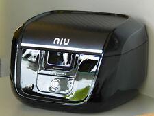 Niu N1S Topcase Schwarz mit Topcaseträger Original Gepäckträger